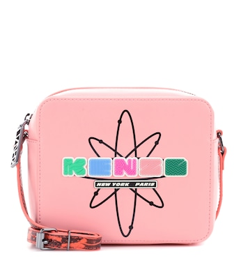 Kenzo - Nasa leather shoulder bag - mytheresa.com