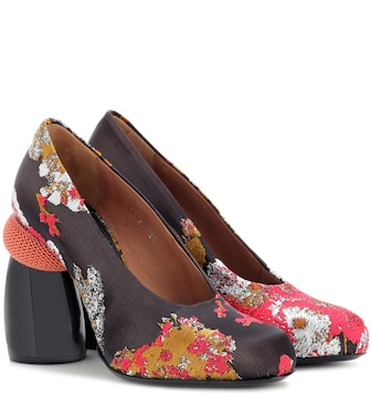 Dries Van Noten - Jacquard pumps - mytheresa.com