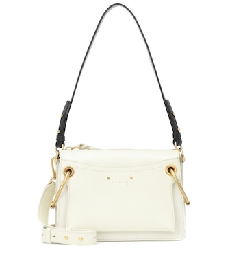 Chloé - Small Roy leather shoulder bag - mytheresa.com