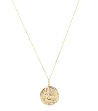 Loren Stewart - Halskette Daughters of Eve aus 14kt Gelbgold - mytheresa.com