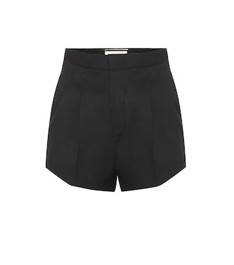 Saint Laurent - Shorts aus Schurwolle - mytheresa.com