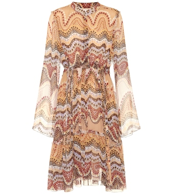 Chloé - Exclusive to mytheresa.com – printed silk-crepon dress - mytheresa.com