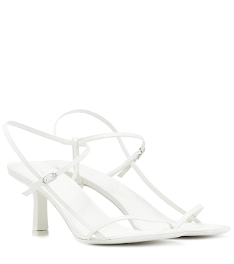 The Row - Bare leather sandals - mytheresa.com