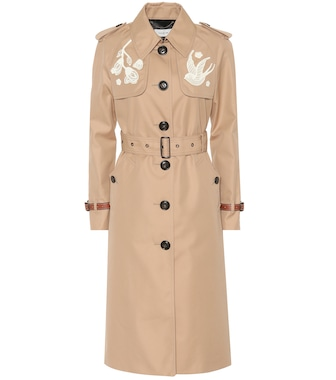 Coach - Cotton-blend trench coat - mytheresa.com