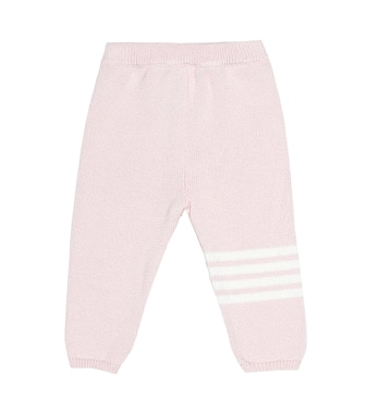 Thom Browne Kids - Cashmere trackpants - mytheresa.com