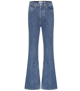 Re/Done - '70s utlra high-rise flared jeans - mytheresa.com