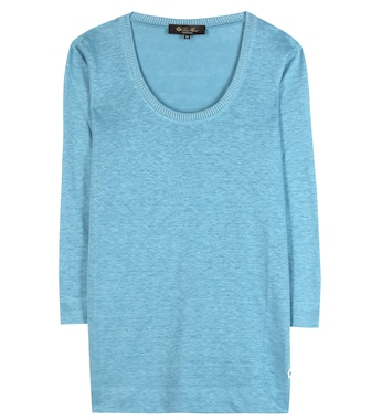 Loro Piana - Light Weave linen T-shirt - mytheresa.com