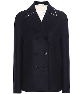 Valentino - Wool coat - mytheresa.com