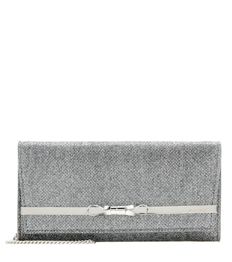 Jimmy Choo - Lydia clutch - mytheresa.com