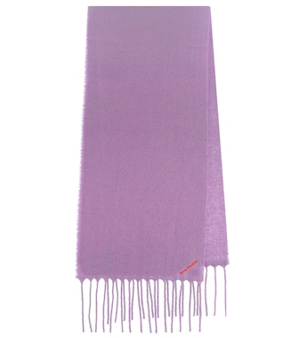 Acne Studios - Villy wool-blend scarf - mytheresa.com