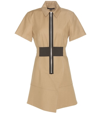 Alexander Wang - Cotton-twill dress - mytheresa.com