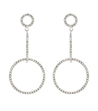Isabel Marant - Crystal-embellished earrings - mytheresa.com
