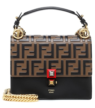 Fendi - Kan I Small leather shoulder bag - mytheresa.com