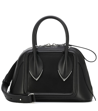 Alexander McQueen - Pinter Small leather tote - mytheresa.com