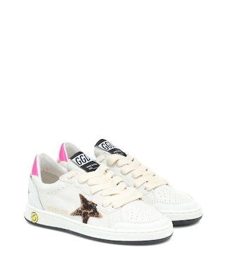 Golden Goose Kids - Ball Star leather sneakers - mytheresa.com