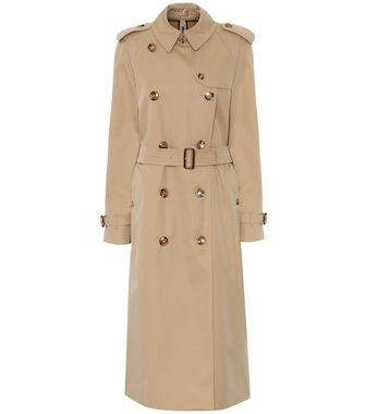 Burberry - Waterloo cotton trench coat - mytheresa.com