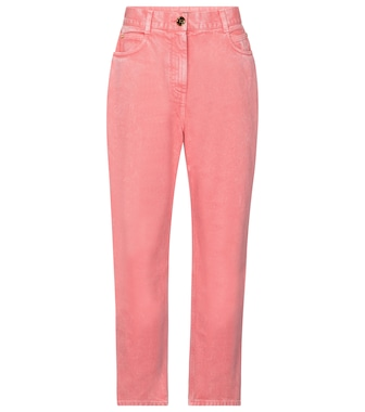 Balmain - High-rise straight jeans - mytheresa.com