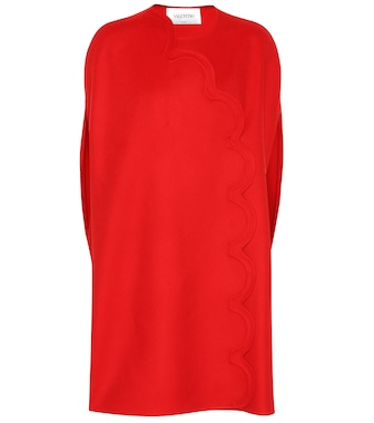 Valentino - Wool and cashmere dress - mytheresa.com