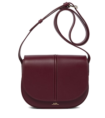 A.P.C. - Betty leather crossbody bag - mytheresa.com