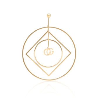 Gucci - GG Running 18kt yellow gold single earring - mytheresa.com