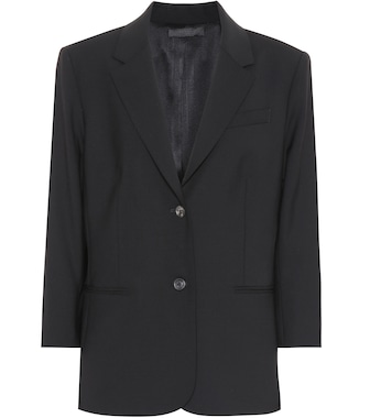The Row - Schoolboy stretch wool blazer - mytheresa.com