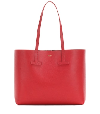 Tom Ford - T Tote leather shopper - mytheresa.com