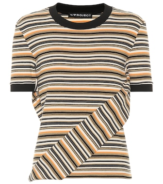 Y/PROJECT - Stretch-cotton top - mytheresa.com