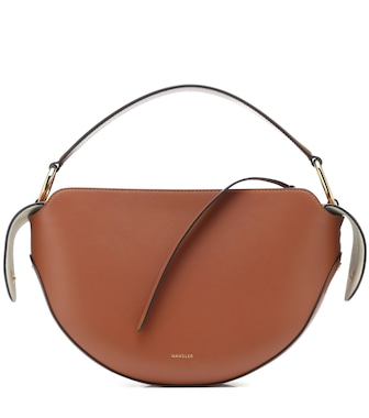 Wandler - Yara leather shoulder bag - mytheresa.com