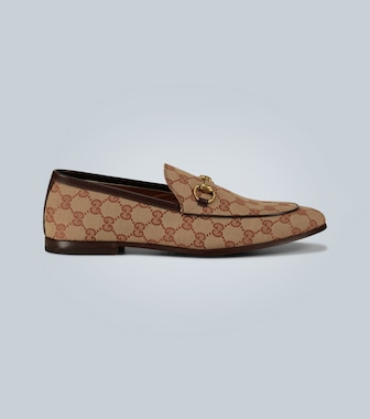 Gucci - Jordaan GG canvas loafers - mytheresa.com