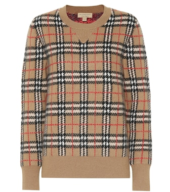 Burberry - Vintage Check cashmere sweater - mytheresa.com