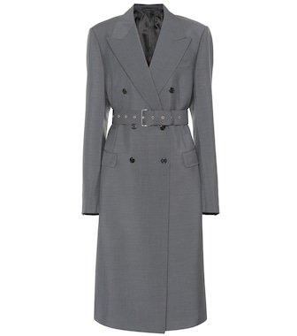 Prada - Mohair and wool coat - mytheresa.com