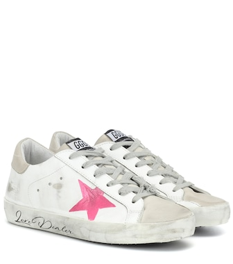 Golden Goose - Sneakers Superstar in pelle - mytheresa.com