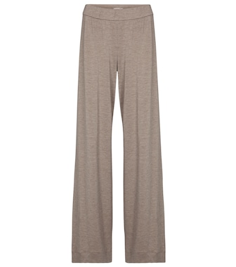 The Row - Bunzo modal and cashmere pants - mytheresa.com