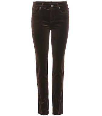 Loro Piana - Jean slim en velours Mathias - mytheresa.com
