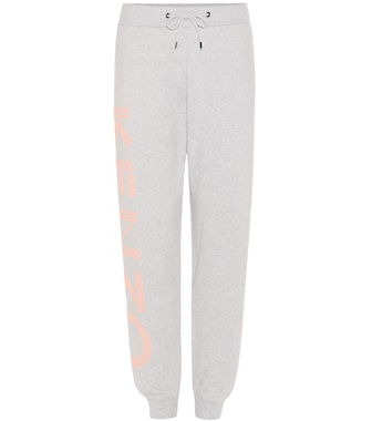 Kenzo - Printed cotton sweatpants - mytheresa.com