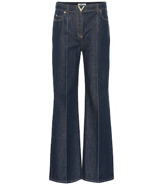 Valentino - High-rise flared jeans - mytheresa.com