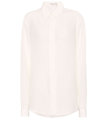 Saint Laurent - Silk shirt - mytheresa.com