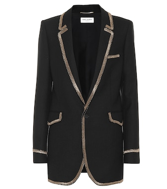 Saint Laurent - Blazer aus Wolle - mytheresa.com