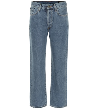 Goldsign - The Relaxed mid-rise straight jeans - mytheresa.com
