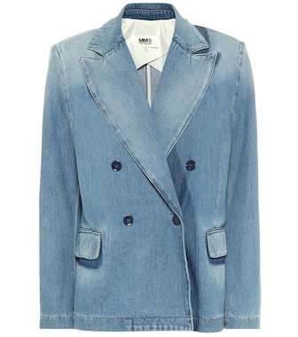 MM6 Maison Margiela - Denim blazer - mytheresa.com