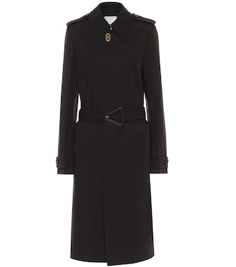 Bottega Veneta - Stretch-cotton gabardine trench coat - mytheresa.com