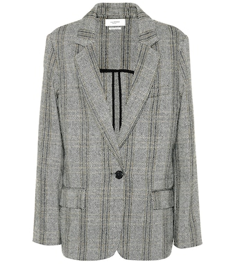 Isabel Marant, Étoile - Charly checked wool blazer - mytheresa.com