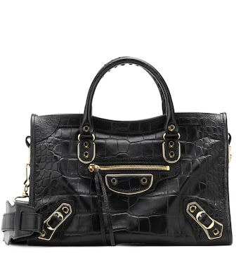 Balenciaga - Classic City S leather tote - mytheresa.com