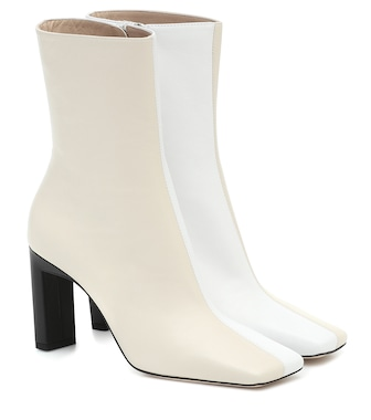Wandler - Isa leather ankle boots - mytheresa.com
