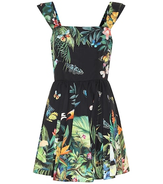 Dolce & Gabbana - Printed cotton minidress - mytheresa.com