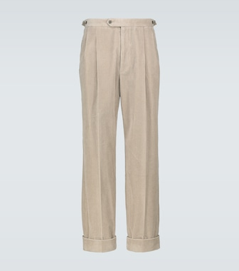 Gucci - Relaxed-fit corduroy pants - mytheresa.com