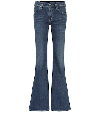 Citizens of Humanity - Chloé high-rise flared jeans - mytheresa.com