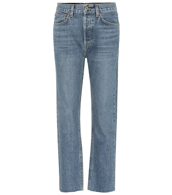 Re/Done - High-Rise Cropped Jeans - mytheresa.com