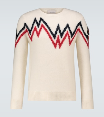 Moncler - Norwegian knitted sweater - mytheresa.com