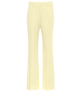 Petar Petrov - Hadwin high-rise wool-blend pants - mytheresa.com